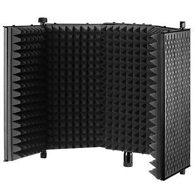 Neewer NW-1 Foldable Adjustable Studio Recording Microphone Isolator Pane Black