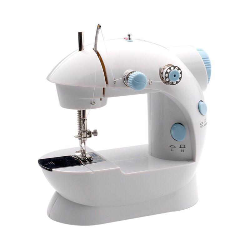 Michley Mini Sewing Machine Kit White LSS202COMBO