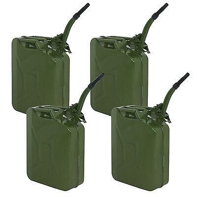 Gasoline Container Portable Fuel 5 Gallon Jerry Can Emergency Tank Gas 20 Liter