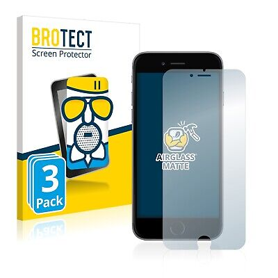 3x Protector Pantalla para iPhone 6 Plus / 6S Plus Cristal Mate...