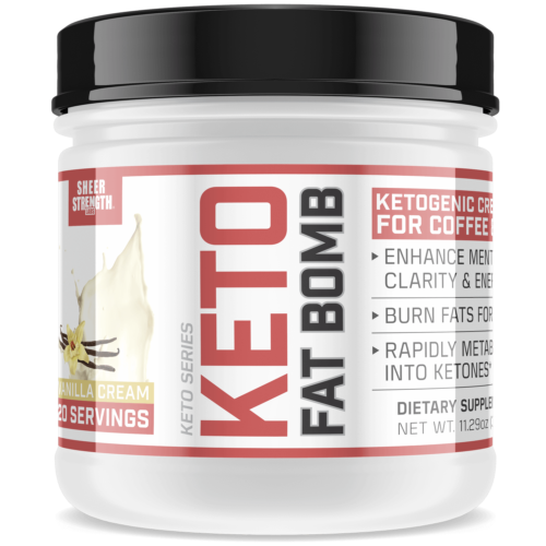 Keto Coffee Creamer with MCT Oil Powder & L Theanine | Healt