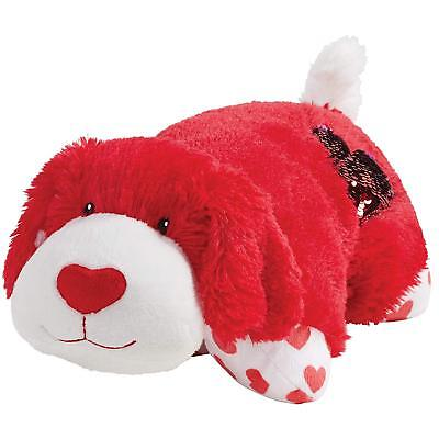 red valentine dog small 11 pillow pet