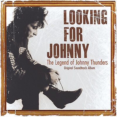 JOHNNY THUNDERS 'Looking For Johnny' Original Soundtrack Album 2xCD new, wrapped