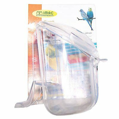 Imac Bird Feeder Clear Bird Food Holder