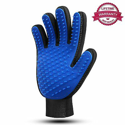 Maxwell Pet Grooming Glove Tool Hair Fur Remover Mitt Best for Dog, Cats Clothes