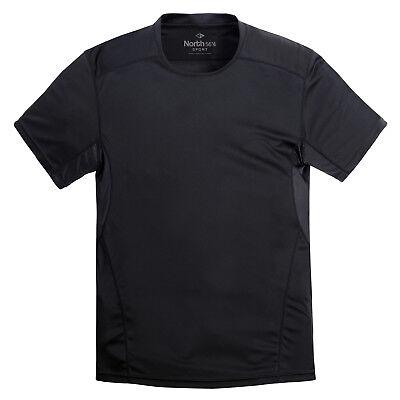 Sport Running T-Shirt schwarz von North 56°4 für Herren 3XL 4XL 5XL 6XL 7XL 8XL