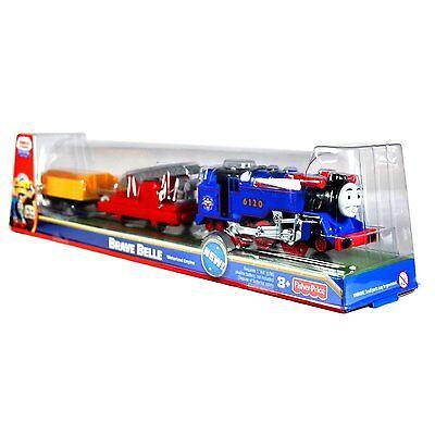 BRAVE BELLE Thomas the Tank Engine & Friends TrackMaster motorized train new nib