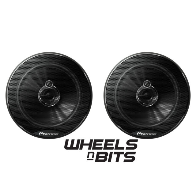Pioneer TS-G1733i 250 Watt 17cm 6.5 Inch Car Speakers 3 way Shallow mount 38.5mm