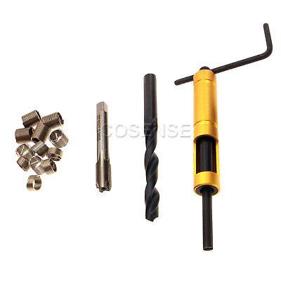Thread Repair Kit M10 X 1.0 Tap Drill Bit Stainless Steel Insert 101520mm