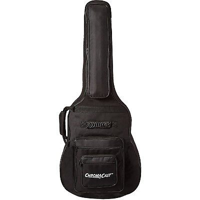 ChromaCast Acoustic Guitar 6-Pocket Padded Gig Bag Fits Most Acoustic Guitars