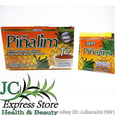 Pi Alim Tea Based On Pineapple 30 Tea Bags Gn   Vida 100  Original Unisex