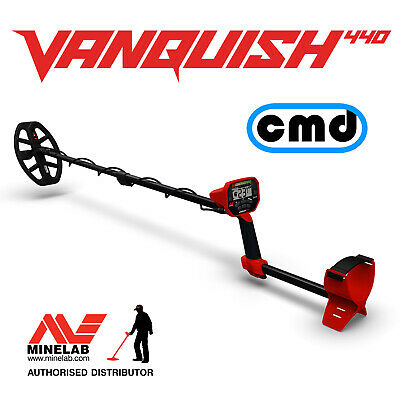 Minelab Vanquish 440 Multi Frequency Metal Detector