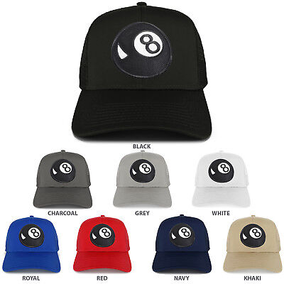 Adult Magic 8 Ball ( Magic 8 Ball Patch Structured Mesh Trucker Cap - FREE)