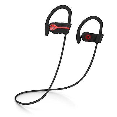 Senso Bluetooth Headphones Best Wireless Sports Earphones W  Mic Ipx7 Waterpro