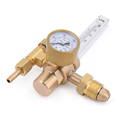 Hitbox Gas Regulator Flow Meter Argon Co2 Welder Mig Tig Welding Weld Gauge Us