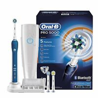 Braun Oral-b Pro 5000 Crossaction Cepillo De Dientes Eléctrico + Bluetooth - braun - ebay.es