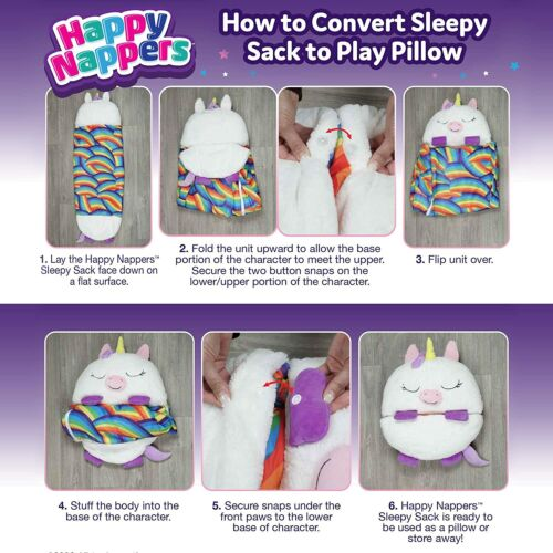 """Happy Nappers Pillow & Sleepy Sack (Ultra soft, comfy & cozy) - Large 66"""" x 30"""""""