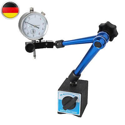 Magnet Messstativ Messuhr Messwerkzeug Mit Magnetfuß Flexibel Zentralklemmung (Messuhr Magnet)