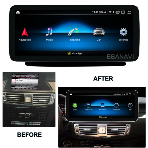 Android10 12.3in Screen 1920HD Car Multimedia GPS for Mercedes Benz CLS W218 4G