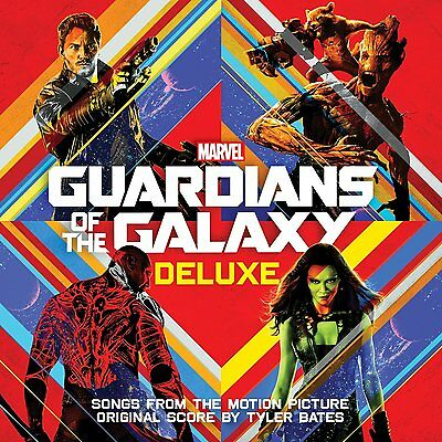 Guardians Of The Galaxy Cd   Soundtrack  2Cd Deluxe Edition  2014    New