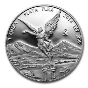 2014 Mexico 1 oz Silver Libertad Proof (In Capsule) - SKU #79578