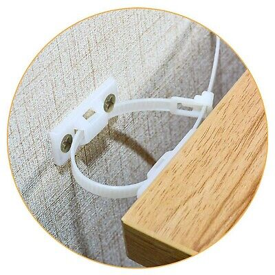 Furniture Straps,(10-Pack) Wall Anchor, Furniture Anchors for Baby Proofing S...