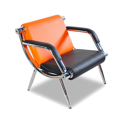 Modern Reception Officebank Waiting Chair Visitor Guest Back Chair Wpu Leather
