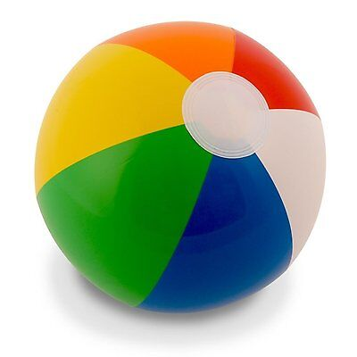 12 In Rainbow Beach Balls 12 Pack Inflatable 12pc Beach Ball Pool Toy Pool Water
