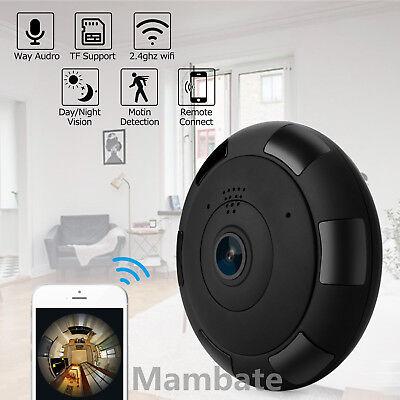 360° HD 1080P Wifi Spy Camera Mini Hidden Camcorder Video Recorder Nanny Cam