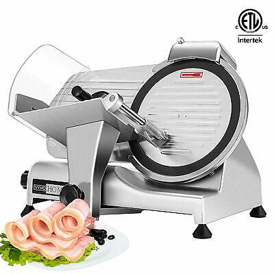 Vivohome Commercial Electric Meat Slicer 10 Blade 320w Deli Food Cheese Cutter