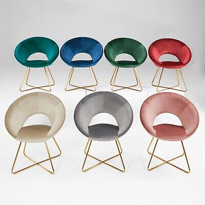 Konferenzstuhl Besucherstuhl Esszimmerstuhl Stoff Samt herausragendes Design - Stuhl Designer Stoff