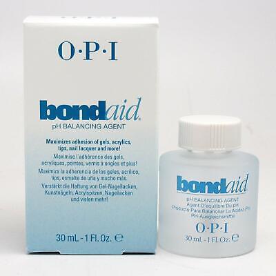 OPI Bond Aid pH Balancing Agent Gel Nail Polish Nail Treatment 1 Oz Full Size