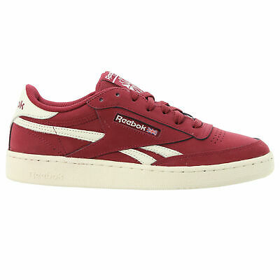 Mens Reebok Revenge Plus SU Burgundy Trainers (TGF43) RRP £59.99