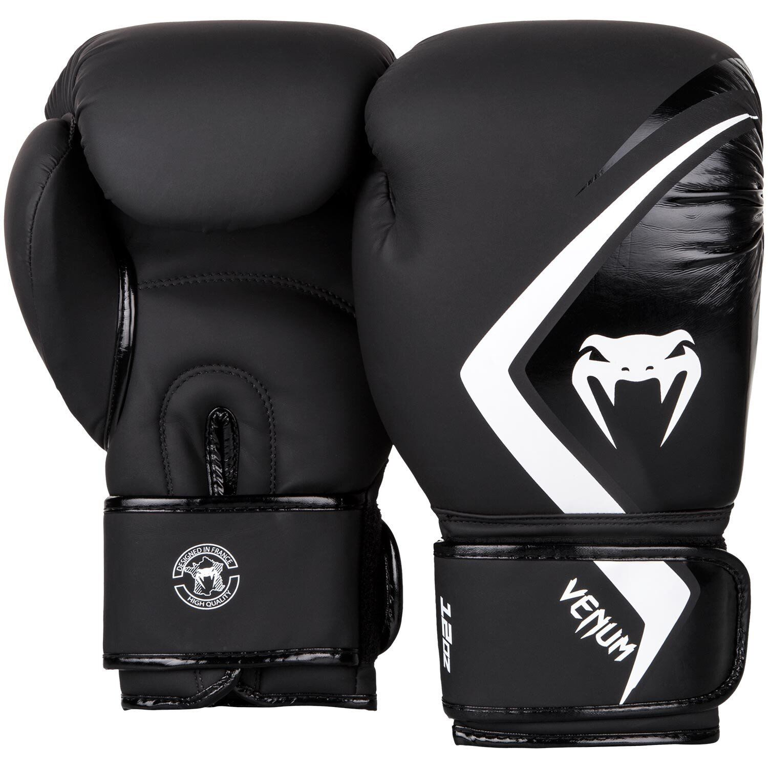 Details about Venum Boxing Gloves Contender 2 0 Black White Muay Thai  Sparring Kickboxing K1