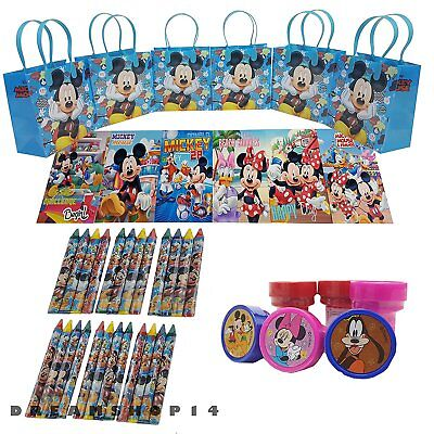 Mickey Mouse Goodie Bags (6 sets Mickey Mouse Party Favor Birthday party goody candy gift bags (42 Pcs))