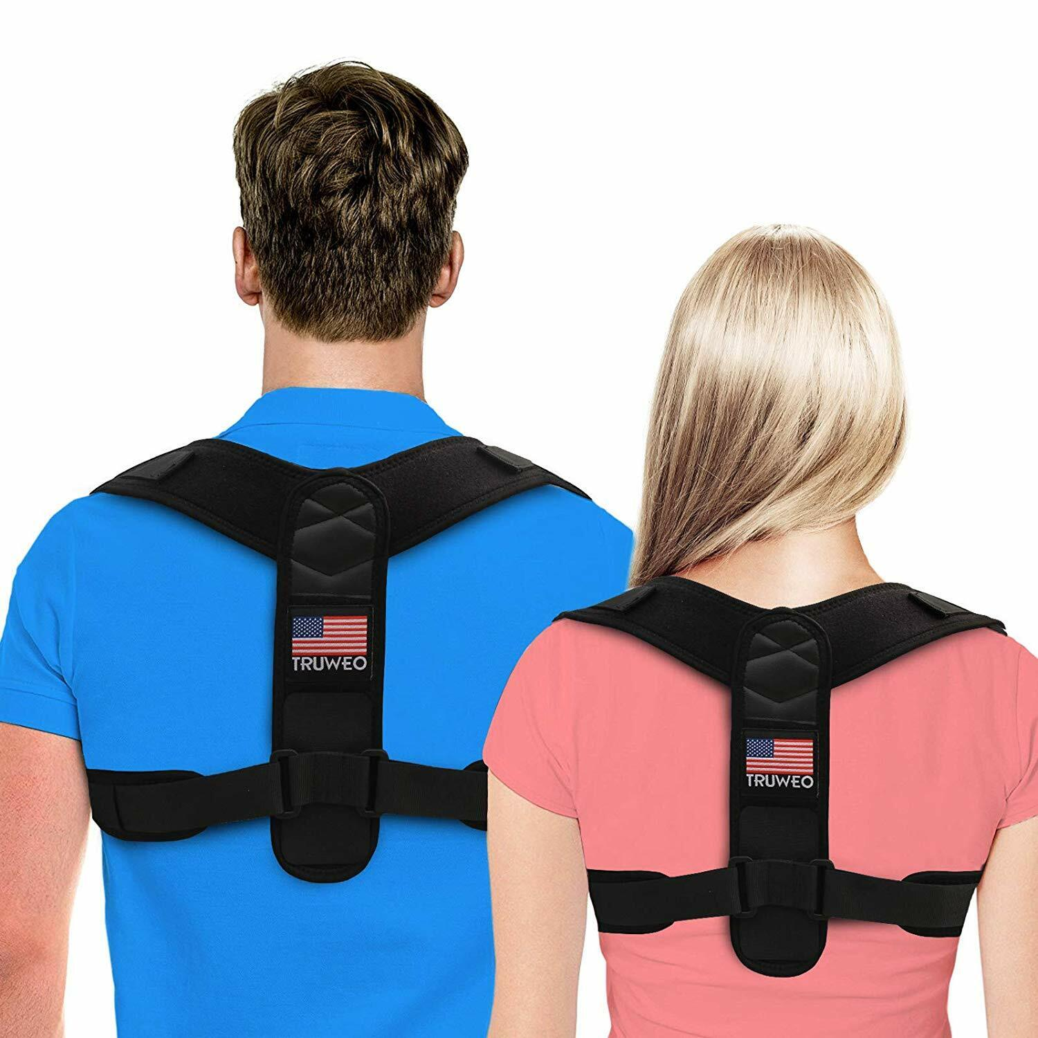 Truweo Posture Corrector For Men And Women-USA Patented Desi