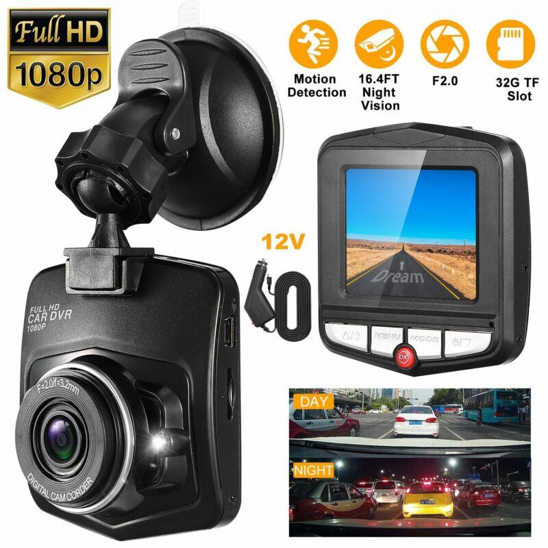"Full HD 1080P 2.4"" Car DVR Dash Cam Vehicle Video Recorder Night Vision Camera"
