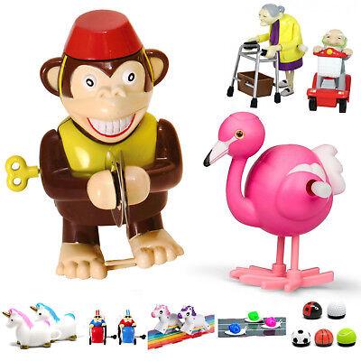 lustige Aufziehfigur Spielzeug aufziehen Einhorn Affe Oma Sport Aufziehspielzeug