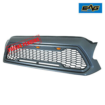 EAG LED Replacement Grille Upper Front Grill Fit for 12-15 Toyota Tacoma