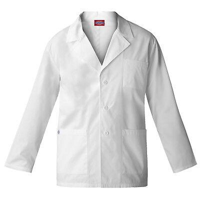 Dickies Women White Lab Coat 84401 28