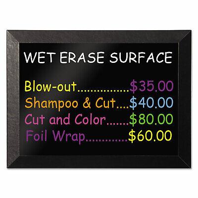 Mastervision Kamashi Wet-erase Board 36 X 24 Black Frame Mm07151620