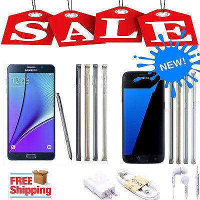 $135.99 - Samsung Galaxy S7 Edge S6 S5 S4 Note5 Note4 Note3 Note2 Factory Unlocked Phone