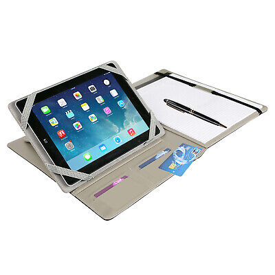 Business Notepad And Tablet Portfolio Carry Case W Handles For 9.7 Tablet Pc