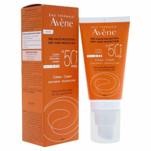 Avene SUN CARE Non-Perfumed Cream Sunscreen SPF50+, 50ml, 1.7oz