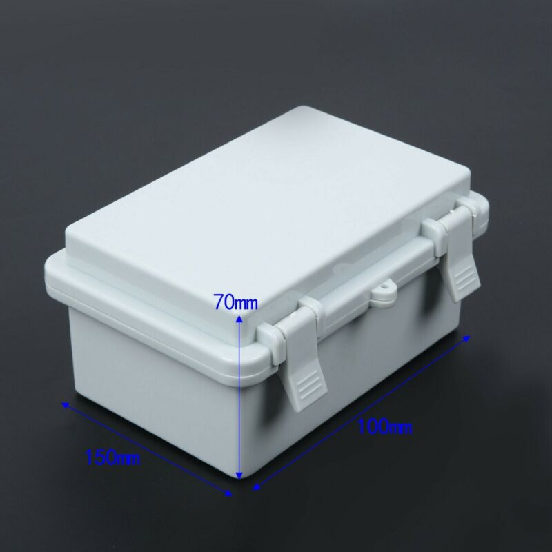 Waterproof Electrical Enclosure Junction Box Connector Terminal Wire Cable Case