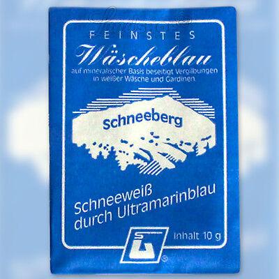 Wäscheblau (GP 1,50€/10g) Ultramarin Gardinen Waschmittel Wäscheweiss Landshop24 Marine 10