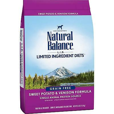 Natural Balance Ingredient Diets Dry Dog Food Sweet Potato Venison Formula (Venison Formula Dry Food)