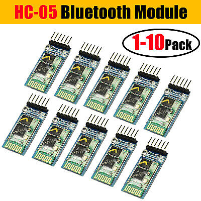 3pcs Hc-05 Wireless Bluetooth Rf Transceiver Module Rs232 Ttl For Arduino Usa