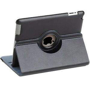 NEW Targus Versavu 360 Rotating Case Cover Stand for Apple iPad 2 3 4 Black/Blue