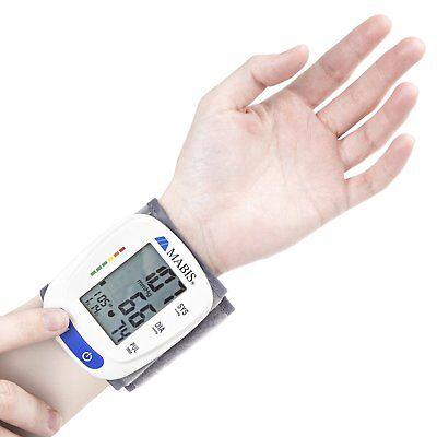Digital Blood Pressure Wrist Cuff: MABIS Electronic Wireless Blood Pressure Cuff